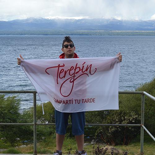 Brian Chodis, ganador del concurso Tu Jingle Terepin.